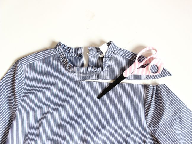 blue-and-white-striped-shirt-scissors