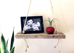 DIY Swing Shelf Inspired by Anthropologie