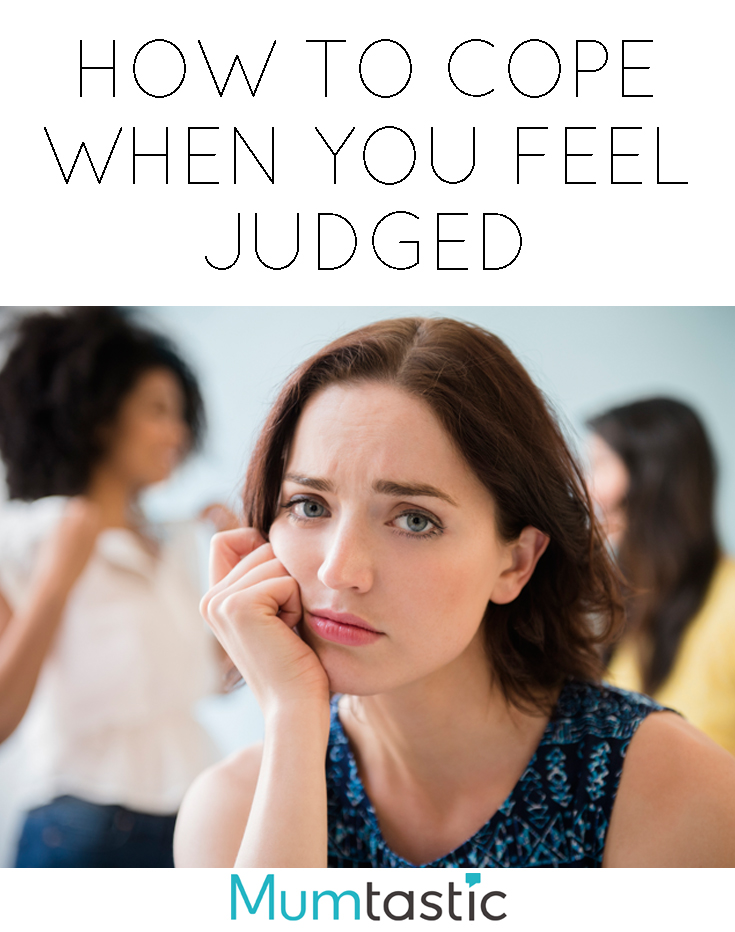 What to do when you feel judged