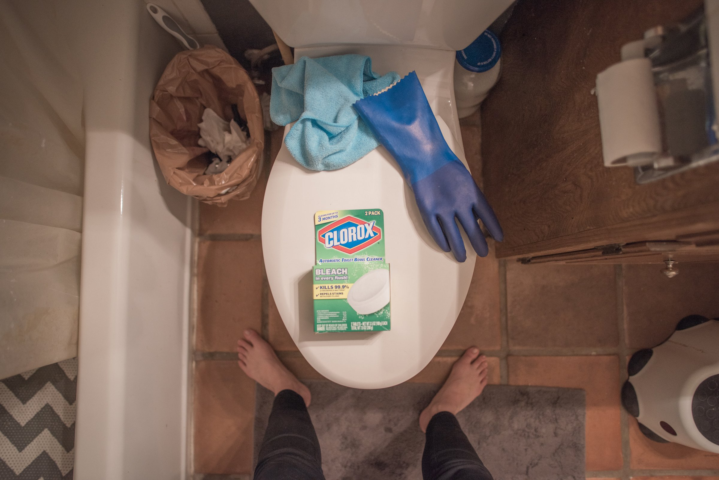 8 Mistakes you're making cleaning the bathroom