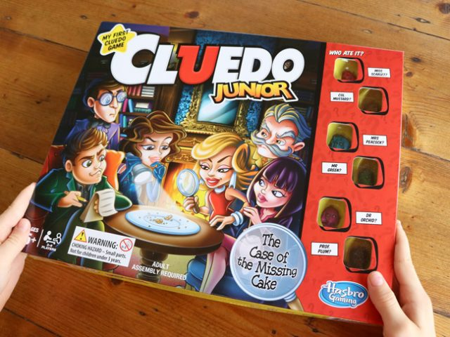 Play and learn with these fun ideas using Cluedo Junior