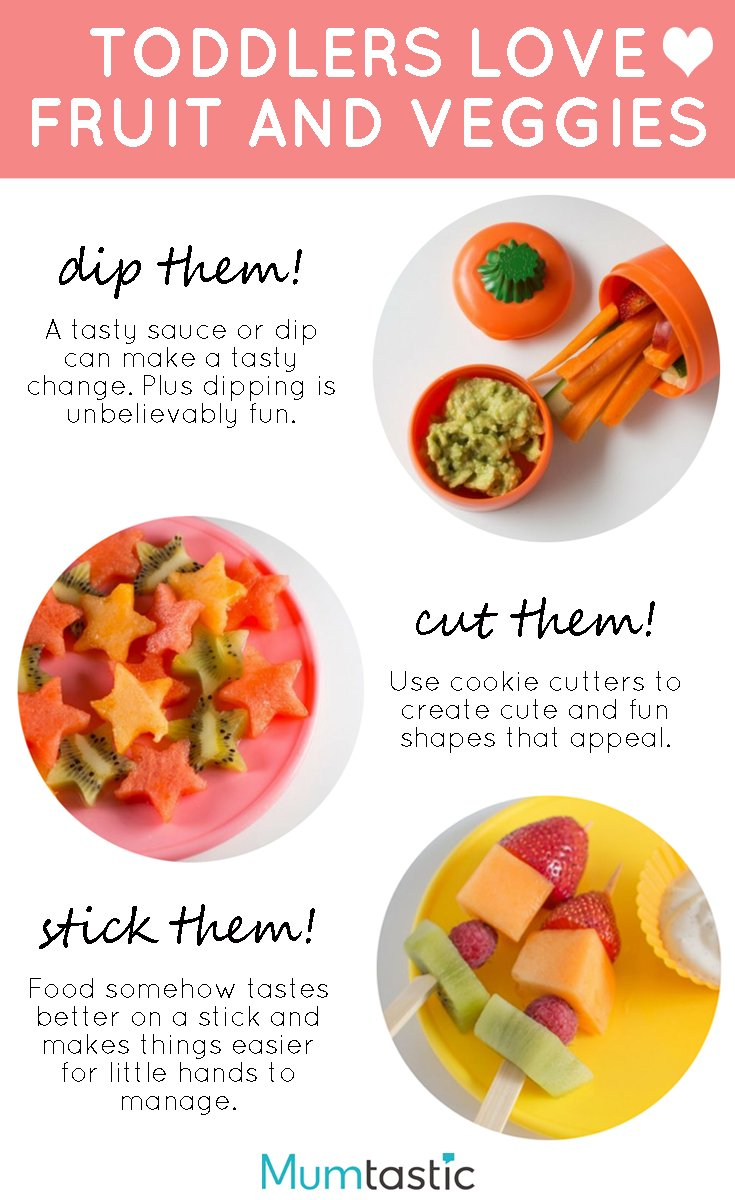 toddlers love fruit and vegetables