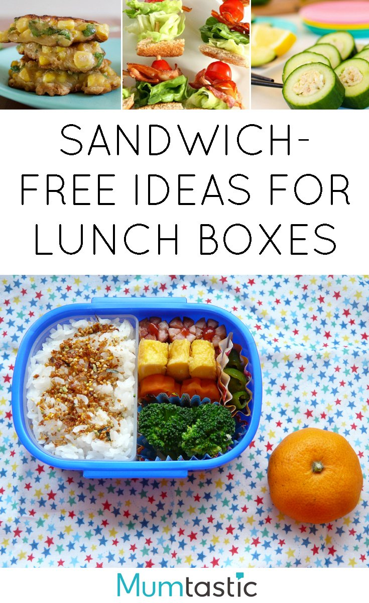 11 Sandwich-Free Lunch Box Ideas
