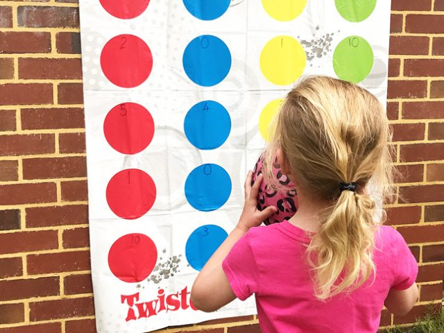 Twister math fun