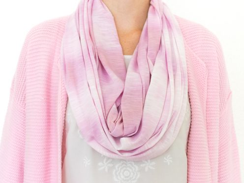 Shibori Made Simple: DIY Block Dyed Scarf for Spring