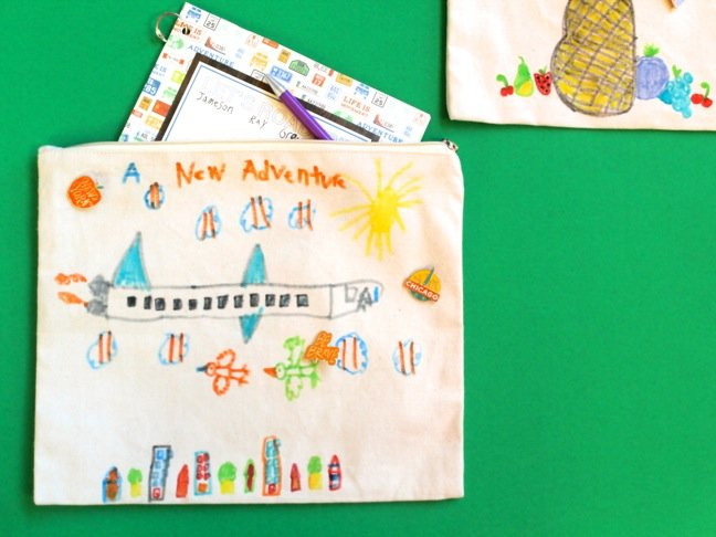 diy-a-new-adventure-travel-bag-with-airplane-and-birds-and-clouds