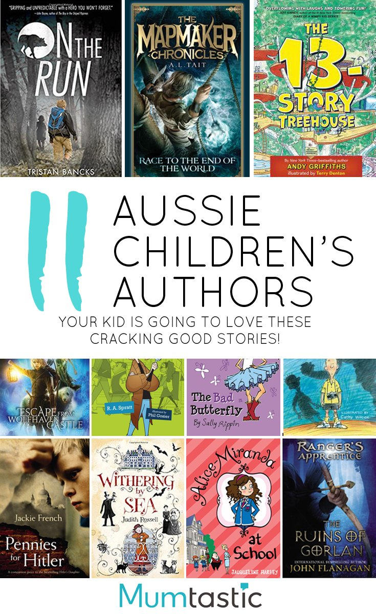 11 Brilliant Aussie Authors