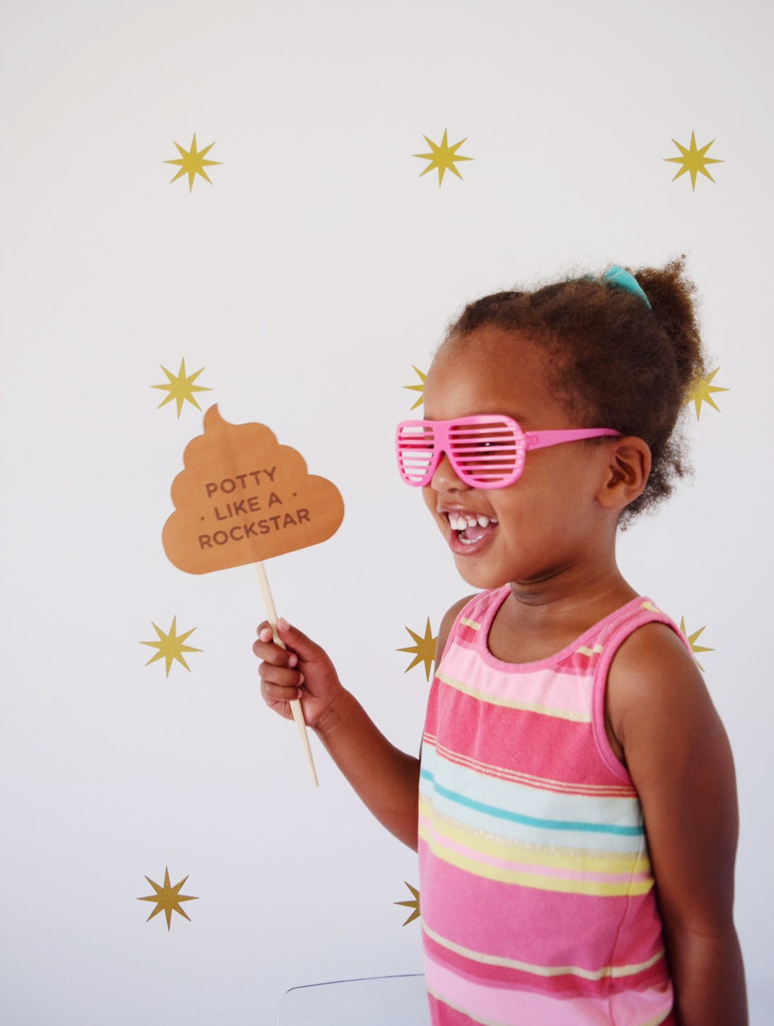 DIY Potty Like Rockstar Party and Photo Booth Printables | Potty Training Party