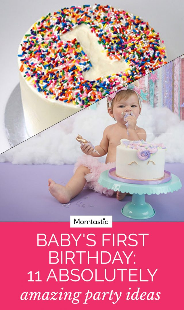 baby s first birthday 11 cool glam party ideas
