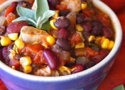 30 Minute Kid-Friendly Chicken Chili Recipe