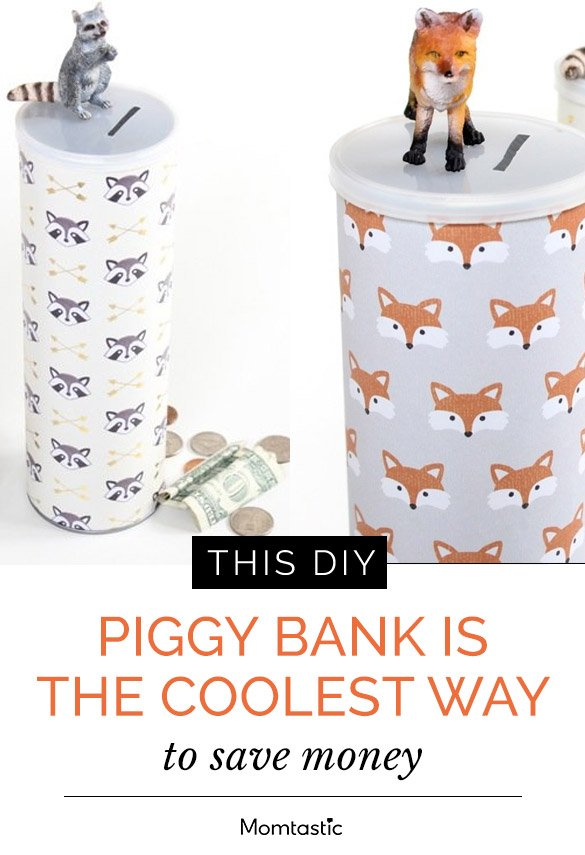 This DIY Piggy Bank Is The Coolest Way To Save Money