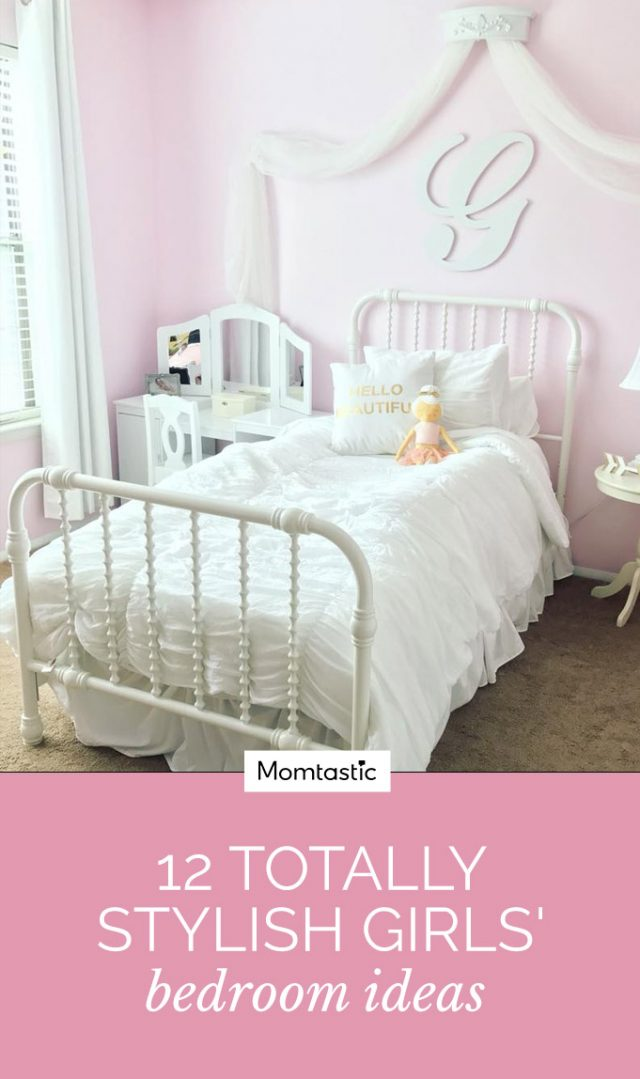 12 Totally Stylish Girls' Bedroom Ideas