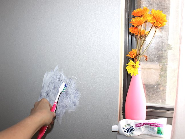 How To Get Crayon Off The Wall