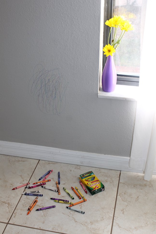 3 Easy Ways to Erase Crayons Off Your Walls
