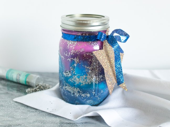 Sensory Play: DIY Galaxy Jar