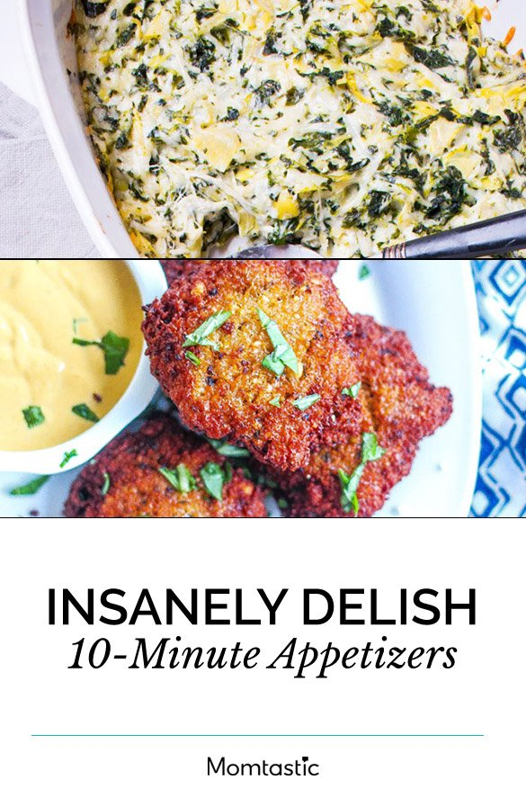 Insanely Delish 10-Minute Appetizers