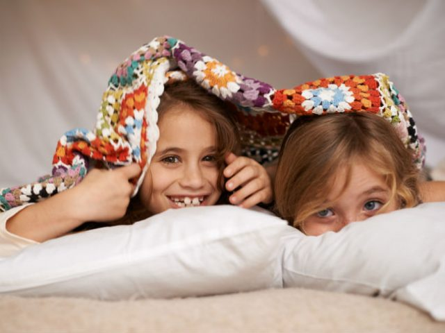 How I Survived My Daughter's First Slumber Party