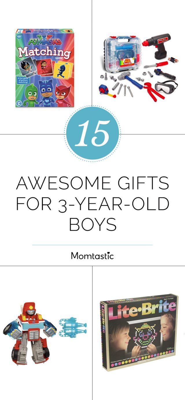 15 Awesome Gifts For 3-Year-Old Boys