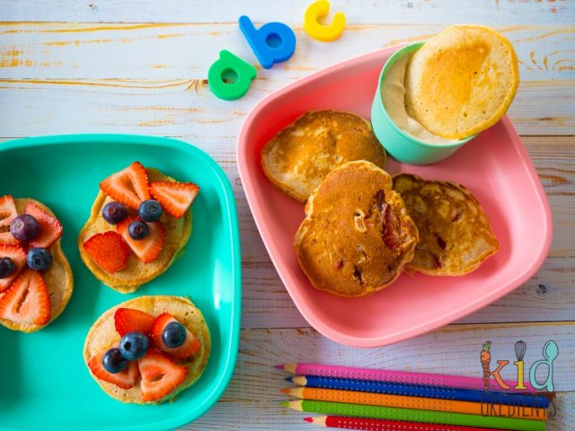 Kidgredients: Wholesome Breakfast Pikelets