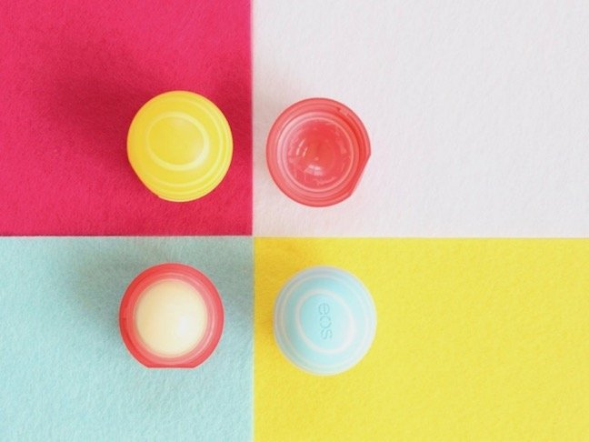 Trash To Treasure: How to Refill Colorful Empty EOS Containers With Homemade Lip Balm