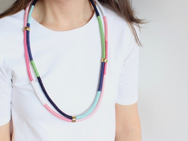 Make A Show Stopping Necklace With Rope And Hardware