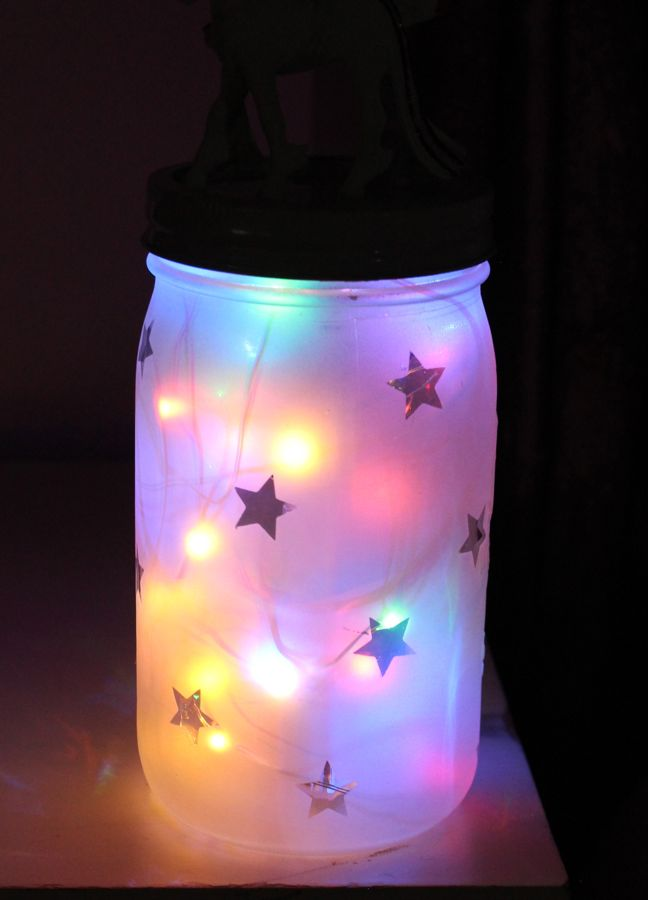diy-night-light-with-multi-color-lights-inside-a-mason-jar