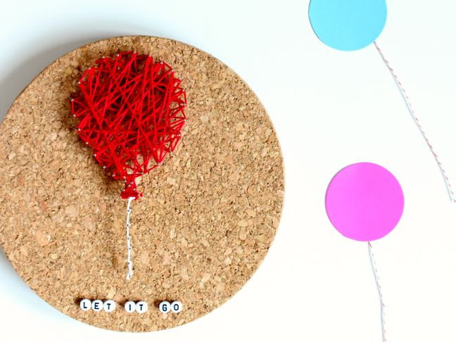 diy-string-art-red-balloon-let-it-go-beads-cork
