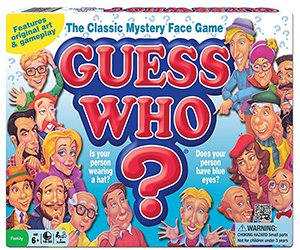 board games for kids: guess who