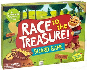 board games for kids: race to the treasure