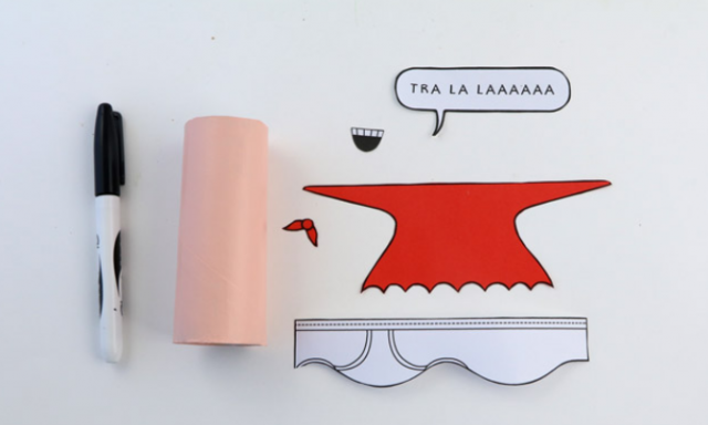 Escape Into A Fit Of Laughter With This Easy 'Captain Underpants' Craft Activity
