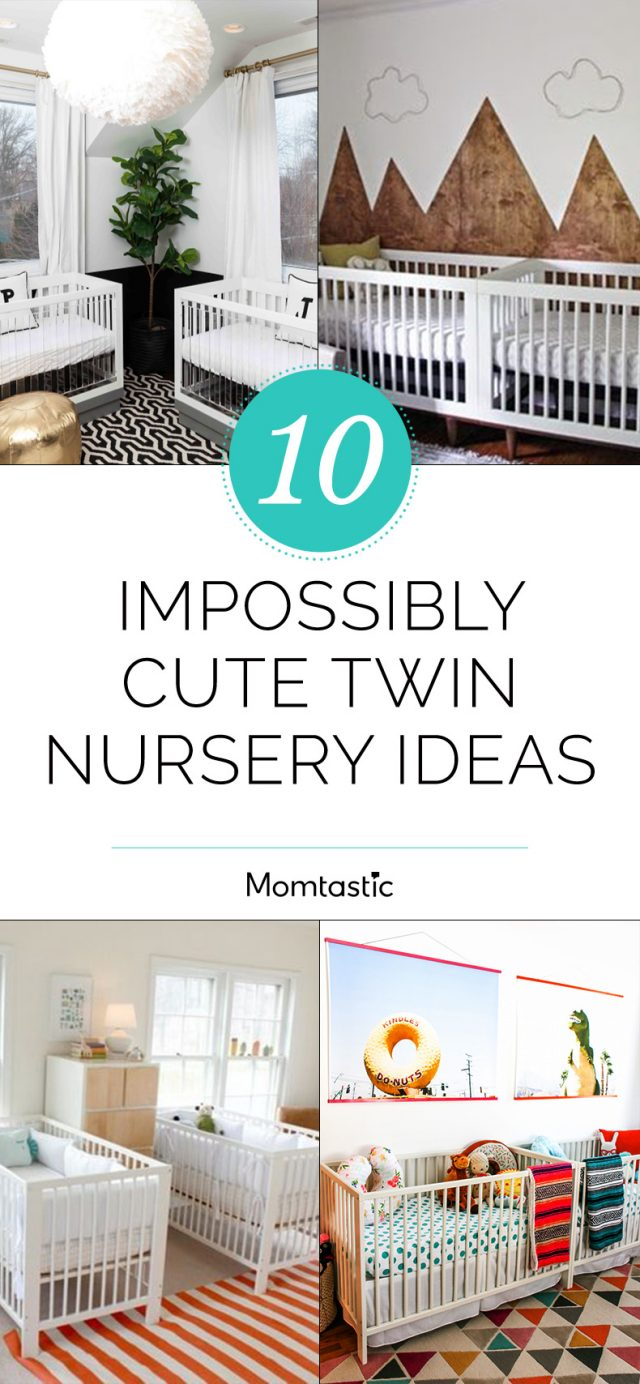 10 Impossibly Cute Twin Nursery Ideas