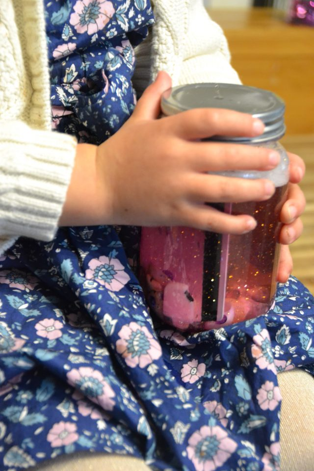Glitter Memory Jars: A DIY Holiday Keepsake you can Make with your Kids