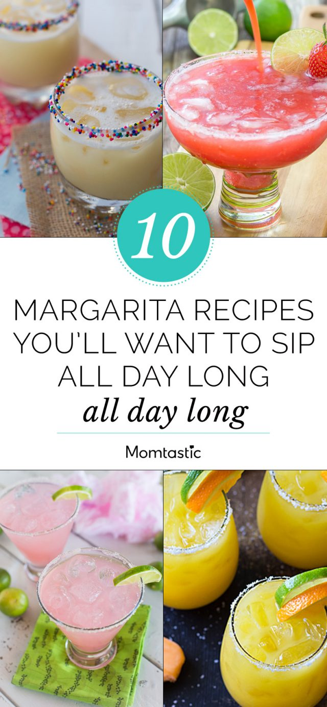 10 Margarita Recipes You'll Want to Sip All Day Long