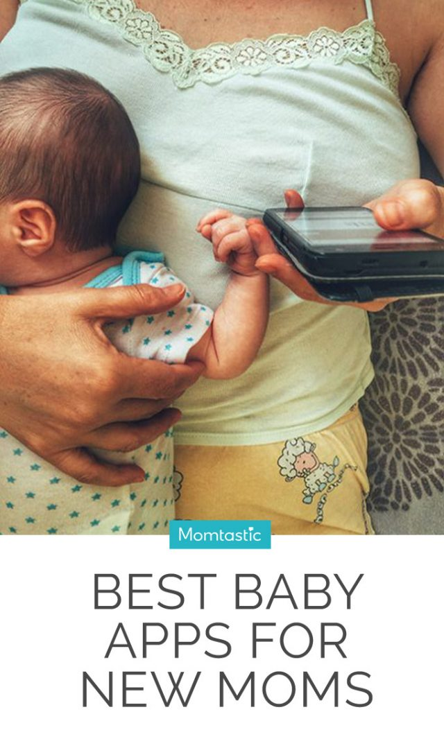 12 Sanity-Saving Baby Apps for New Moms