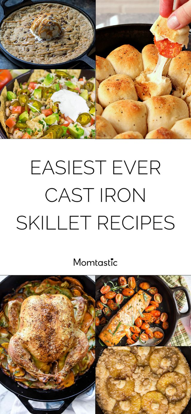 Easiest Ever Cast Iron Skillet Recipes