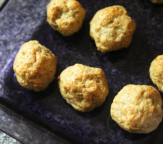 Buffalo Chicken Meatballs are the Dinner You Didn't Know You Needed