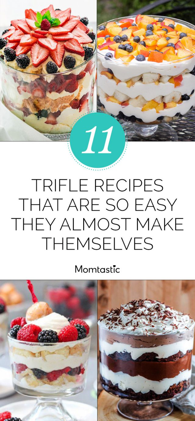 11 Trifle Recipes That Are So Easy They Almost Make Themselves