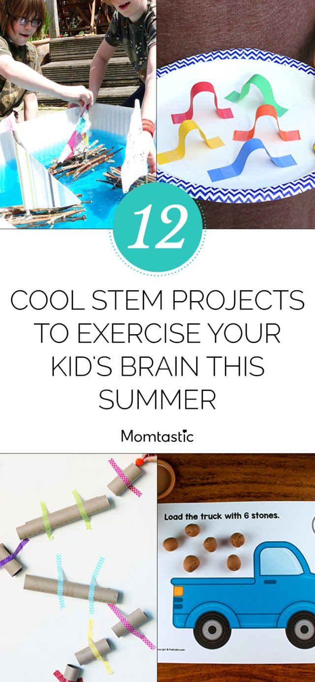 12 Cool STEM Projects To Exercise Your Kid's Brain This Summer
