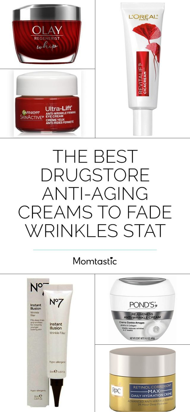 The Best Drugstore Anti-Aging Creams to Fade Wrinkles Stat
