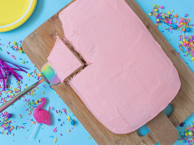 This Simple Popsicle Cake is Perfect for Summer
