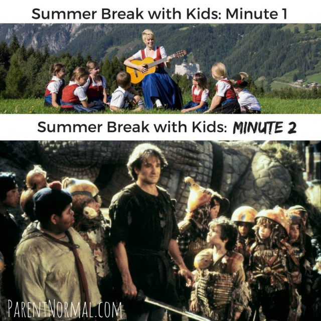 The Funniest Memes About Summertime With The Kids
