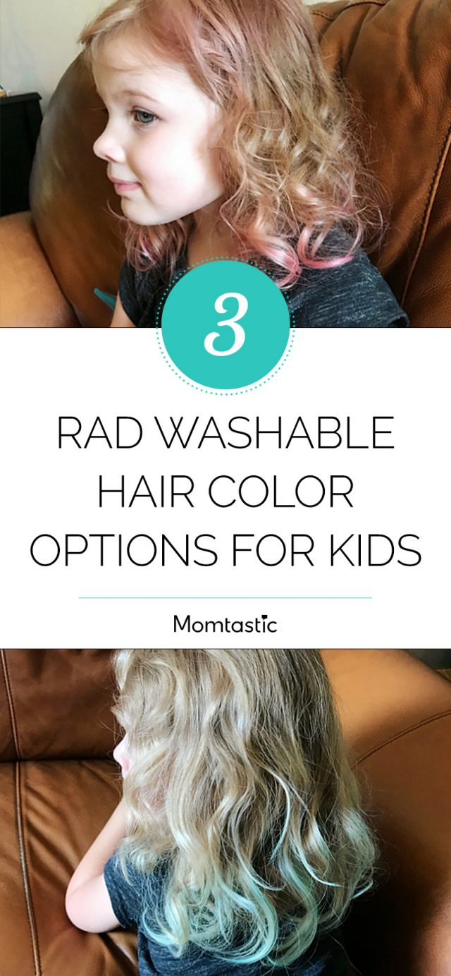3 Rad Washable Hair Colour Options for Kids