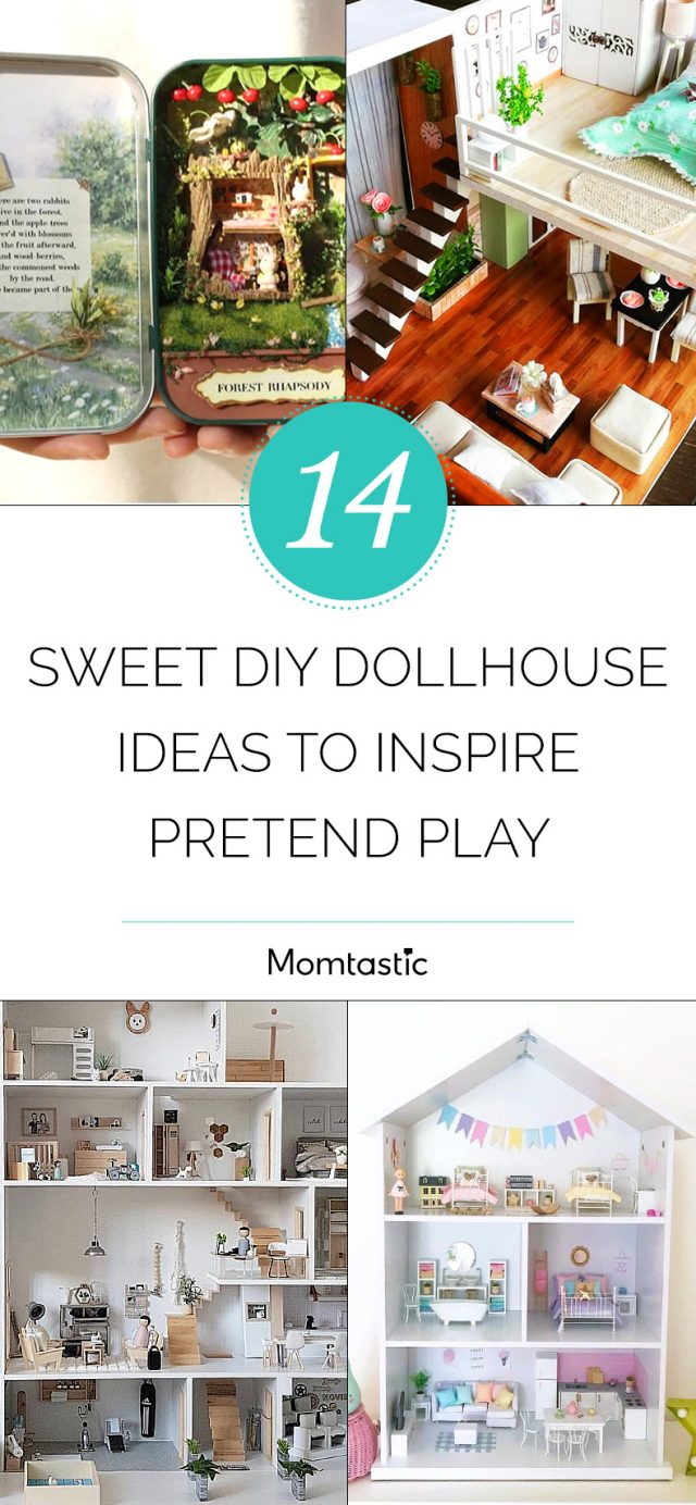 14 Sweet DIY Dollhouse Ideas to Inspire Pretend Play