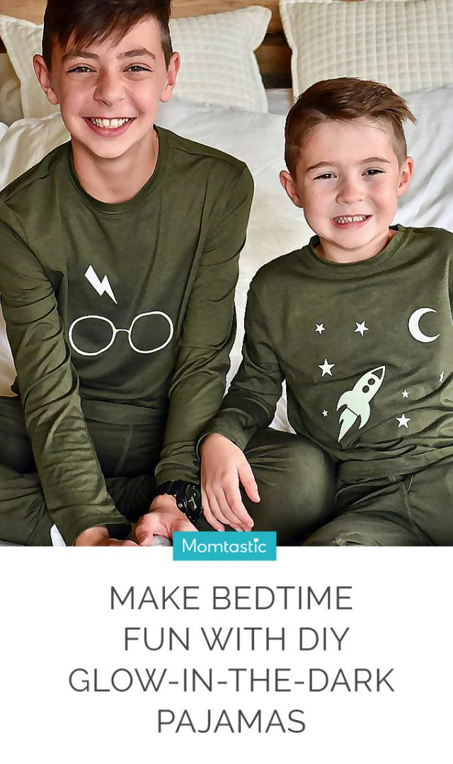 Make Bedtime Fun With DIY Glow-in-the Dark Pajamas