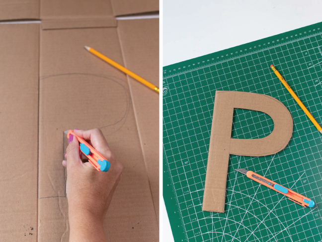 These Easy Wool Wrapped Letters Make Great Kids Room Decor