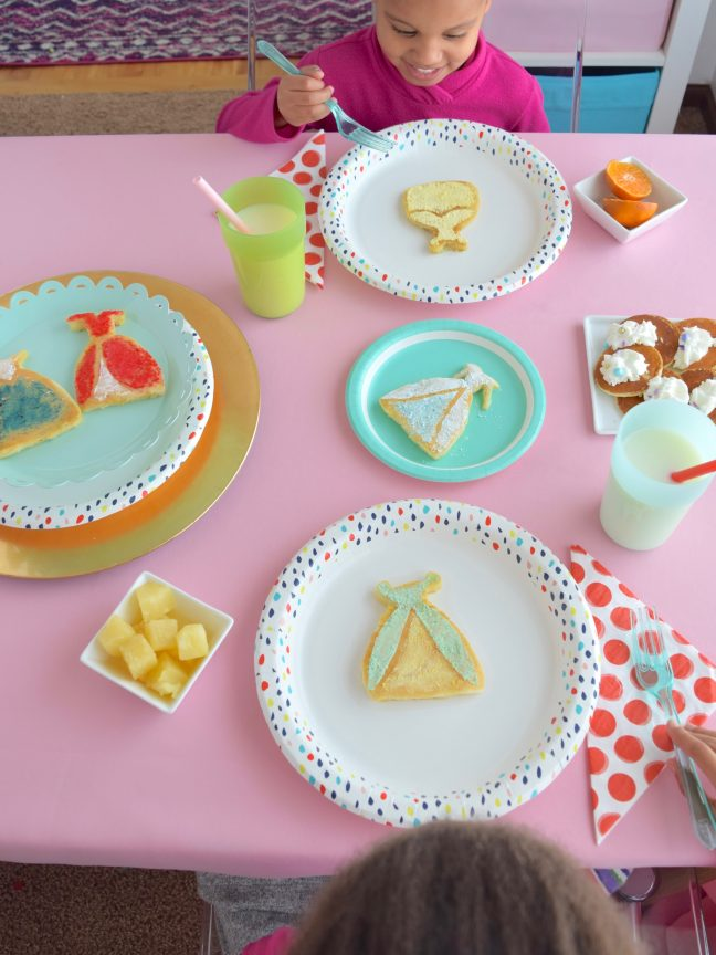 DIY Disney Princess Pancake Molds | Shauna Younge for Momtastic