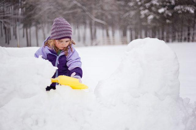 Here's Why I'm Saying No To Snow Forts