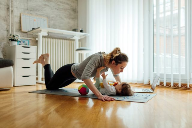 6 Workouts You Can Do with Your Baby or Toddler
