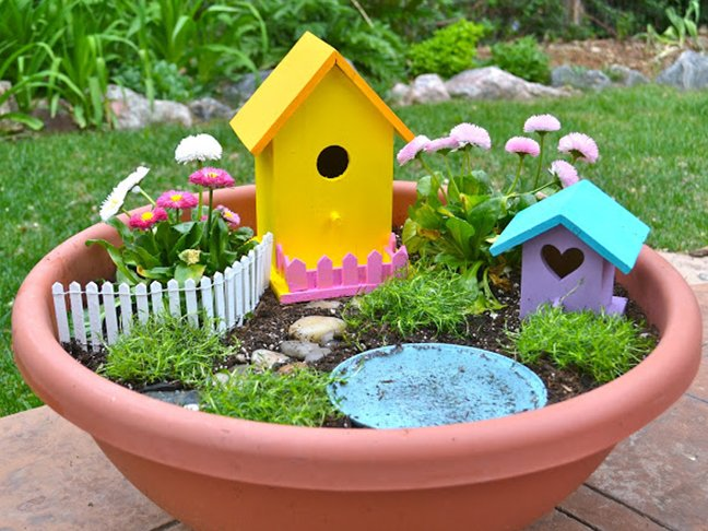 13 Magical Fairy Garden Ideas for Kids