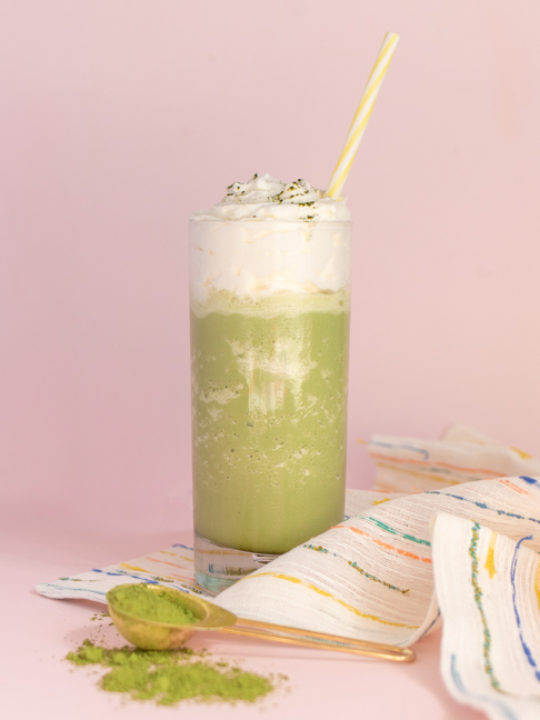 Make a Copycat Starbucks Matcha Frappuccino at Home